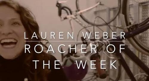 Roacher of the Week: Lauren Weber, People Ops Manager @ Cockroach Labs