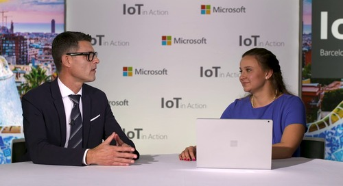 Microsoft's IoT in Action webinar featuring the Genetec Retail portfolio