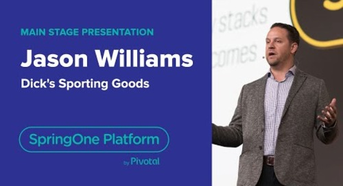 Jason Williams, Dick's Sporting Goods—SpringOne Platform 2018