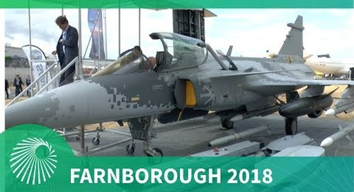 Farnborough Air Show 2018: Saab's Gripen E