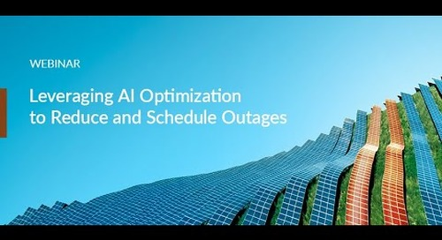 Webinar: Leveraging AI-Powered Optimization to Bundle Asset Interventions and Reduce Outages