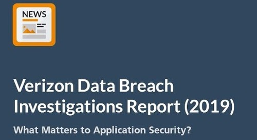 Verizon's DBIR 2019 - What Matters to Application Security?