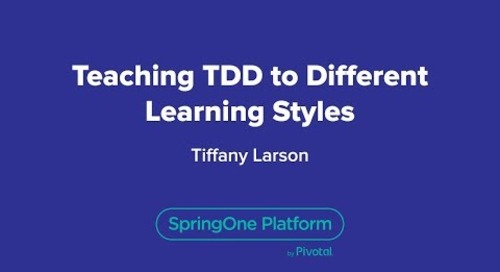 Teaching TDD to Different Learning Styles