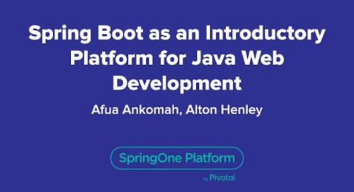 Spring Boot as a Teaching Tool: An Introductory Platform for Java Web Development