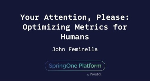 Your Attention, Please: Optimizing Metrics for Humans - John Feminella
