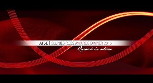 2015 ATSE Clunies Ross Award: Professor Zhiguo Yuan