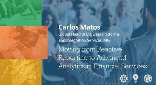 Advanced Analytics in Financial Services - Carlos Matos