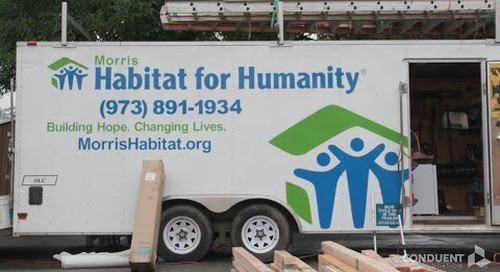 Conduent Volunteers for Habitat for Humanity