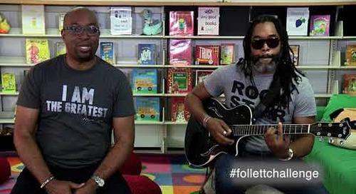 Kwame Alexander Judges 2019 Follett Challenge