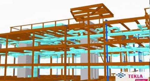 Trimble Westminster Building Project - Tekla BIMsight Model