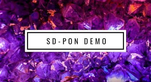 Radisys SD-PON Demo at MWC2019