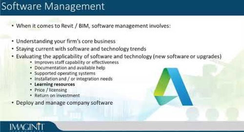 BIM Management Services Part 3