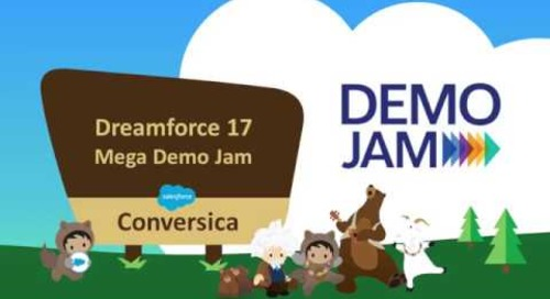 Conversica's Award Winning Demo at Dreamforce Mega Demo Jam