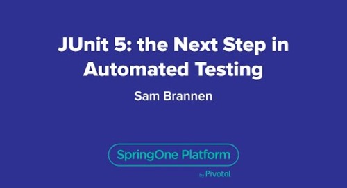 JUnit 5:  the Next Step in Automated Testing