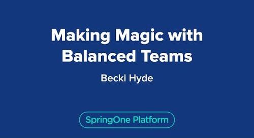 Making Magic with Balanced Teams