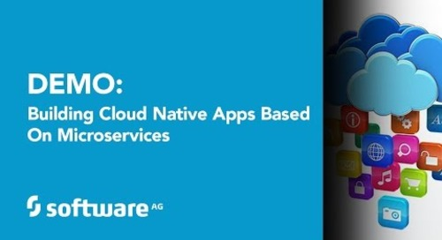 Demo: Building Cloud Native Apps based on Microservices