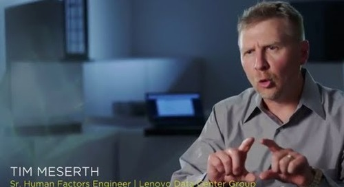 Lenovo Human Factors Engineer Discusses the ThinkSystem SD530 Design