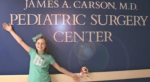 Avrie's Surgery Experience | Sacred Heart Children's Hospital