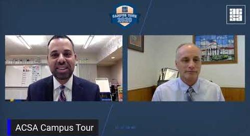 ACSA Campus Tour: Jim Cloney