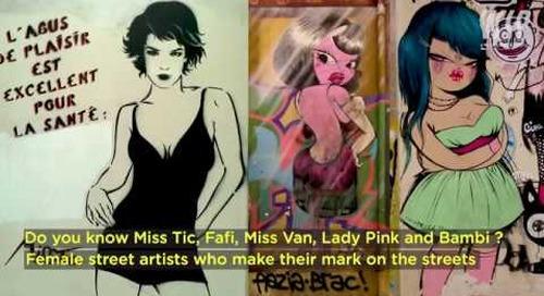 CAPSULE STREET ART - Part 07 - Women and street art UK