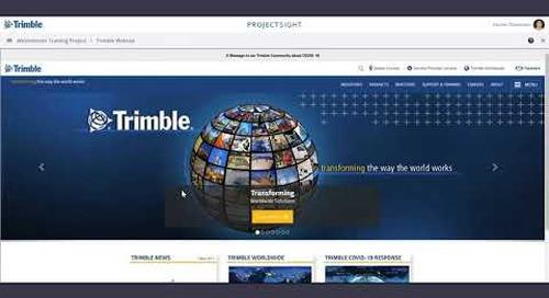 ProjectSight Training Video - External Links