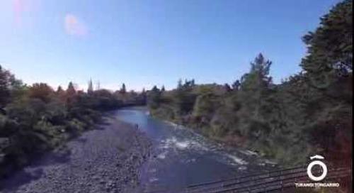 A scenic look at Southern Lake Taupo