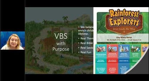 Rainforest Explorers 2020 VBS Overview