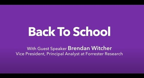 Trends to Watch: Back To School 2020