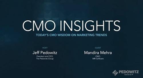 CMO Insights: Mandira Mehra, MRI Software