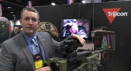AUSA 2016: Machine Gun Reflex Sight (MGRS) debut from Trijicon