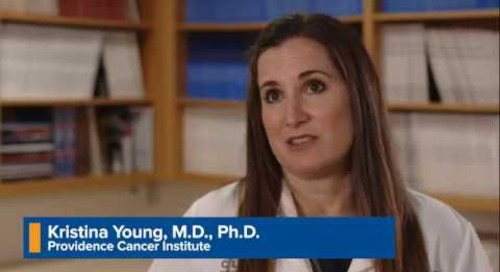 Providence Wellness Watch KGW Oct 2019 30 Breast Cancer Research - Dr. Young