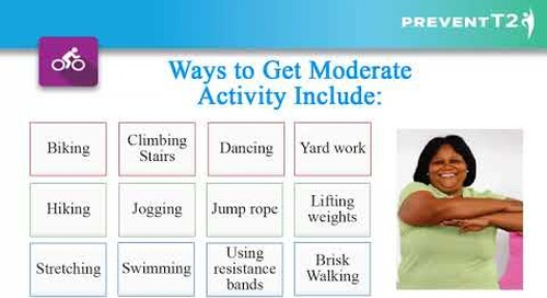 Lesson 2: Get Active to PreventT2