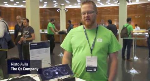 Built with Qt: Demo of lightning-fast booting  embedded devices, QtWS17