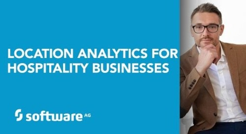 Software AG's Location Analytics for Hospitality