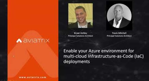 Enable your Azure environment for multi-cloud Infrastructure-as-Code (IaC) deployments