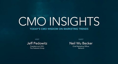 CMO Insights: Neil Becker, Chief Marketing Officer, Behavox