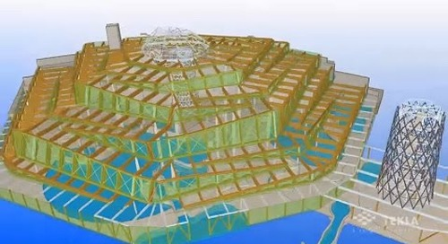 Tekla France BIM 2014 - CE INGENIERIE : Aqualagon