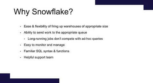 Snowflake Office Hours: Mode