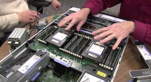 Lenovo System x3750 M4 video walk-through