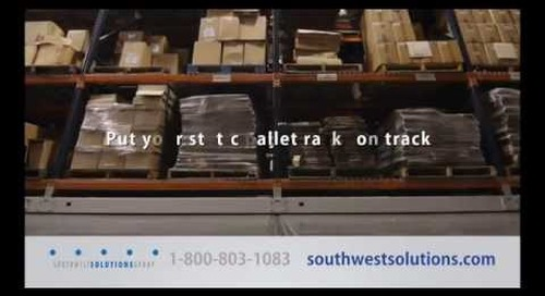 Mobile High Density Racks | Motorized Compact Shelving | Industrial Warehouse Pallet Storage