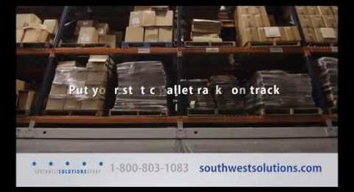 Mobile High Density Racks | Motorized Compact Shelving | Industrial Warehouse Pallet Storage