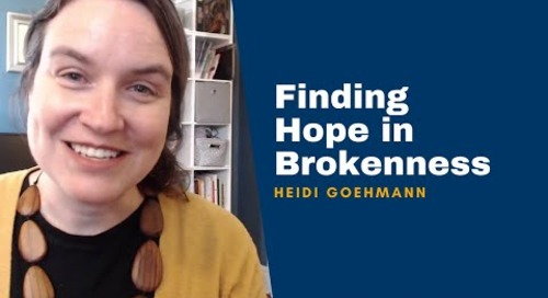 Heidi Goehmann on Finding Hope