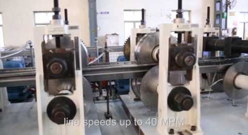 Samco Machinery Upright Post and Box Beam Roll Forming Line