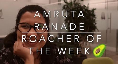 Roacher of the Week: Amruta Ranade, Sr. Technical Writer at Cockroach Labs