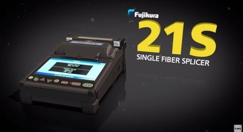 Fujikura 21S Fusion Splicer Demostration