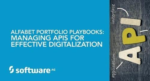 Alfabet Portfolio Playbooks: Managing APIs for Effective Digitalization