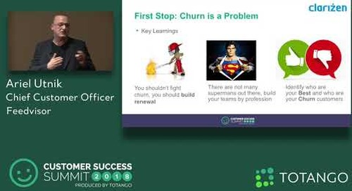 What I Have Learned From Building Successful CS Teams - Customer Success Summit 2018 (Track 3)