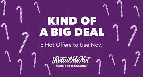 Kind of a Big Deal: Top Weekend Sales 12.11.17
