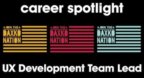 Career Spotlight: UX Development Team Lead