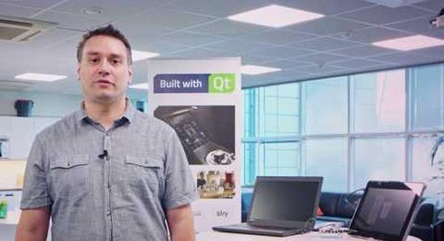 Coffee Machine UI Demonstration with Qt Quick Designer